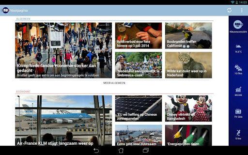 NU.nl lanceert vernieuwde smartphone en tablet app voor Android