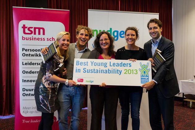 Nudge maakt de 'Best Young Leaders in Sustainability 2013' bekend