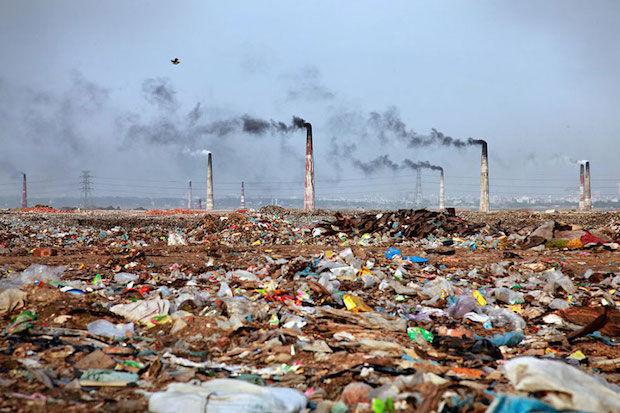 oneindige afvalberg banladesh