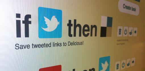 Online diensten slim aan elkaar knopen met If This Then That