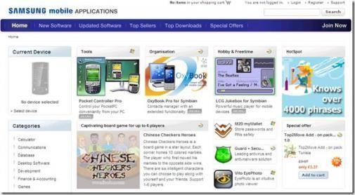 Ook Samsung krijgt App Store