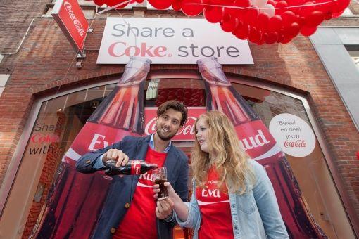 Opening Share a Coke store Ruud Feltkamp