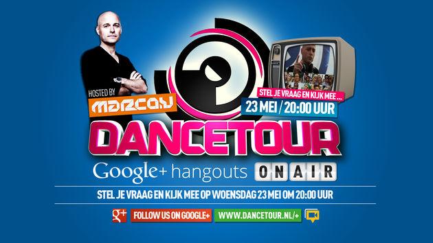 Organisatie Dancetour over Google+ en Hangouts