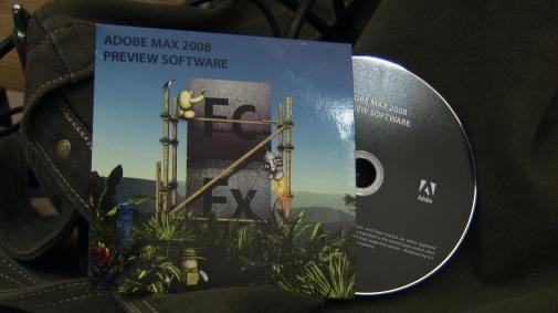 Overview dag 2 Adobe Max 2008