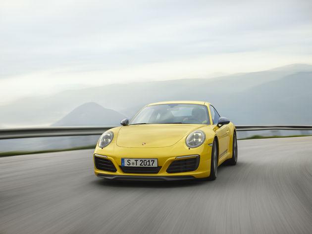 De Porsche 911 Carrera T: minder is meer