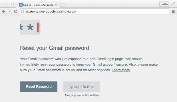 Password Alert 2