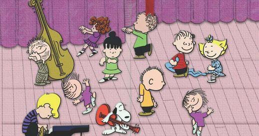 Peanuts Christmas Flash Mob