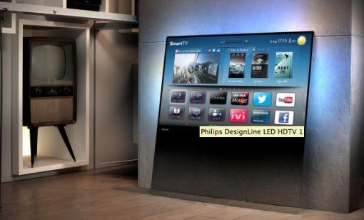 Philips DesignLine LED HDTV