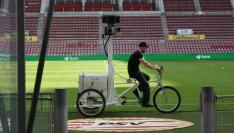 Philips Stadion in Google Street View
