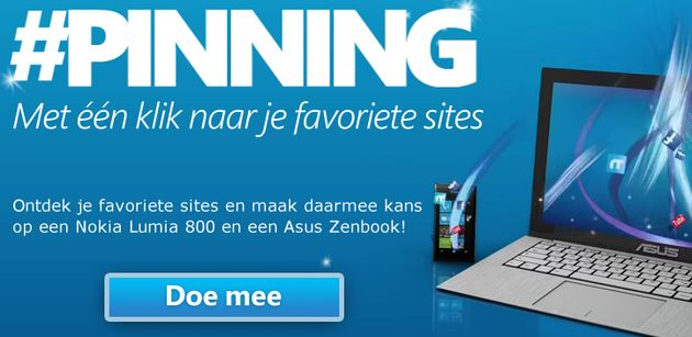 #Pinning: Winning met je favoriete sites [Adv]