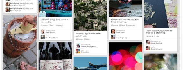 Pinterest heeft nu meer dan 70 miljoen gebruikers