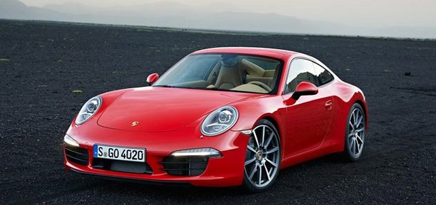 Porsche 911 Carrera wint 'Red Dot Award': Product Design 2012