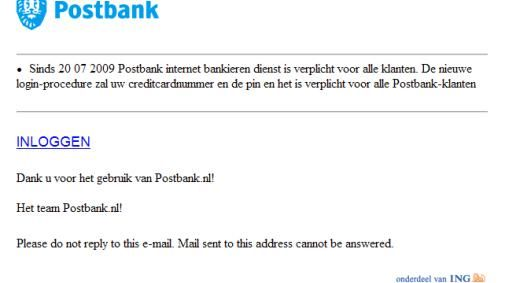 Postbank fisher