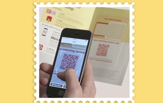 Postzegels met QR-code