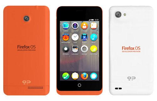Preview verschenen van de Firefox OS Developer Phone