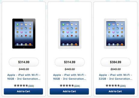 Prijsdaling iPad verraadt mogelijk komst nieuwe iPad