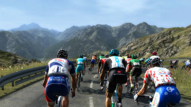 Pro Cycling Manager 2012 - Mon pneu est plat