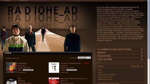 Radiohead voor 99 cent bij iTunes!