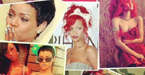 Rihanna stoot Eminem van de 'Facebook troon'