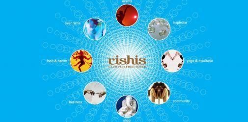 Rishis lanceert eerste spirituele platform