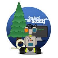 Robot Twaalf staat centraal in interactieve kerstactie