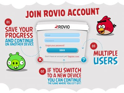 Rovio maakt savegames uitwisselbaar tussen iOS en Android