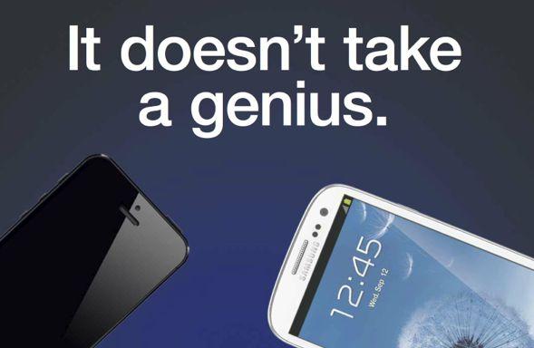 Samsung komt met anti iPhone 5 advertentie