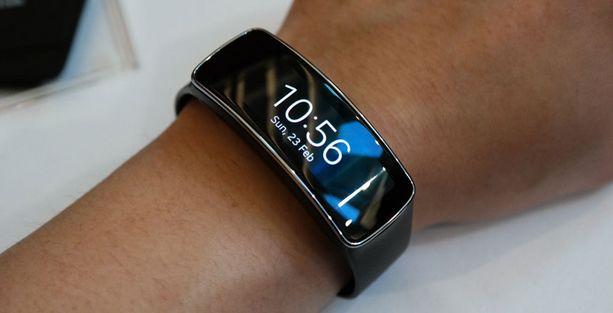 Samsung's nieuwste Gear Fit toont toekomst van smartphones