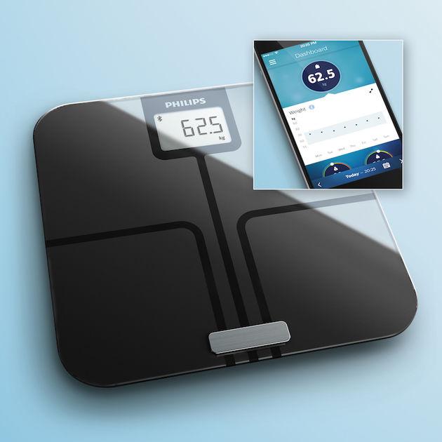 Philips-weegschaal met lichaamsanalyse