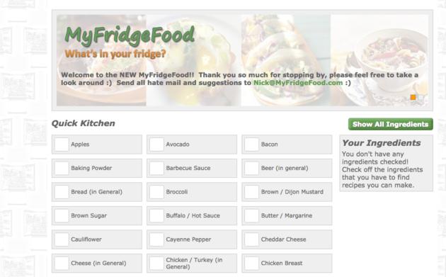 my-fridge-food