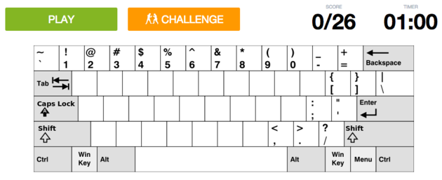 quiz-toetsenbord