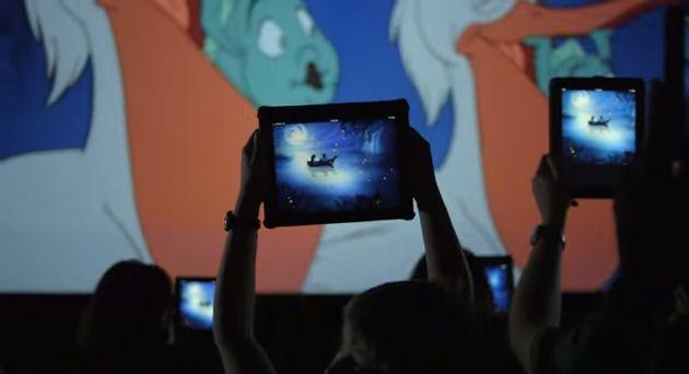 Second screen bij Disney's Kleine Zeemeermin