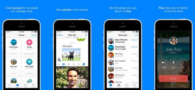 Selfie maken en delen nog eenvoudiger met Facebook Messenger voor iOS
