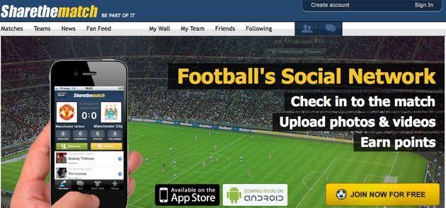 SharetheMatch: sociaal netwerk gericht op voetbalfans