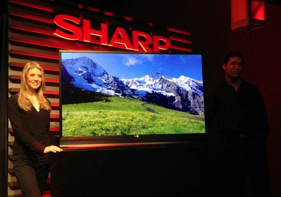Sharp onthult eerste Ultra HD LED TV's tijdens CES 2013