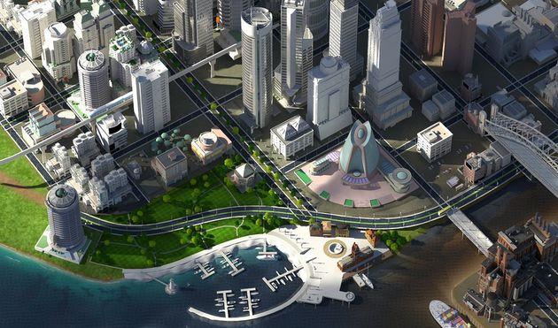 Simcity: een stad met problemen, maar volgens de burgemeester komt het goed