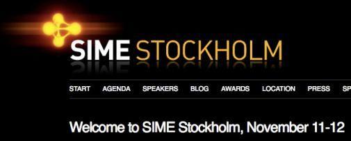 SIME Stockholm 2009