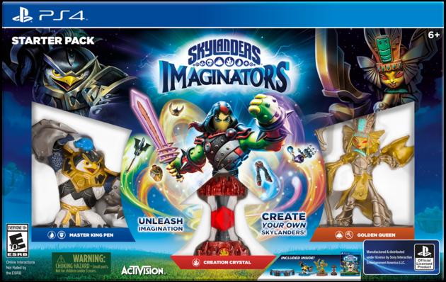 SkylandersImaginatorsStarterPackPS4