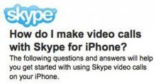 Skype Video calling vanaf januari op de iPhone