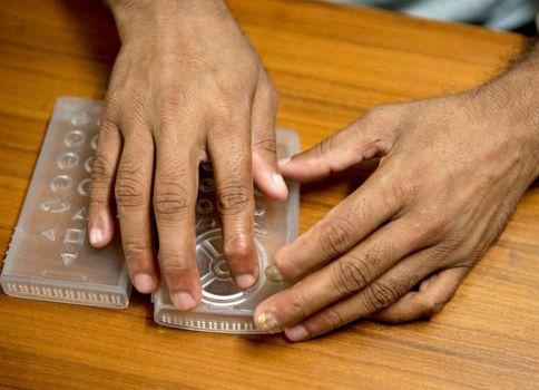 Smartphone voor blinden