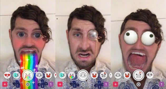 Snapchat Augmented Reality