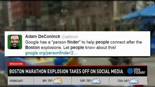 Social media en de explosies in Boston: FBI niet erg blij met alle 'hulp'