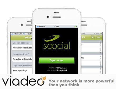 Soocial verkocht aan Linkedin competitie Viadeo [UPDATE incl interview Stefan Fountain]