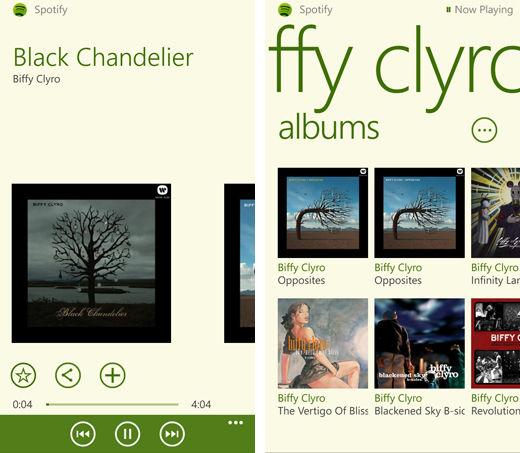 Spotify voor Windows Phone 8 beschikbaar