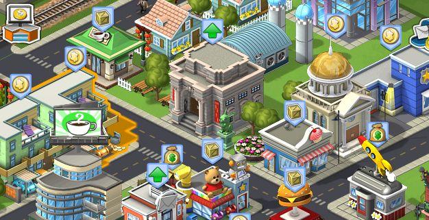 Steden bouwen op je iPhone met Cityville