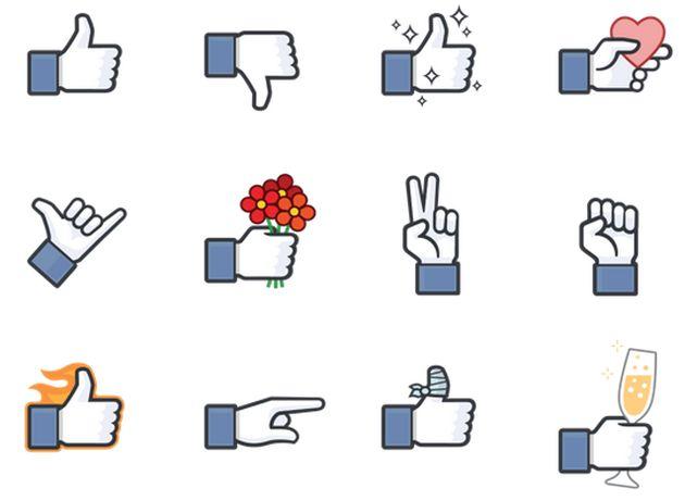 Stickerwinkel bij Facebook