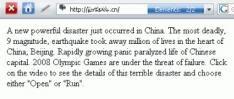 Storm Worm annuleert Olympische Spelen in Beijing