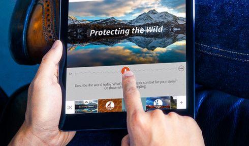 Storytelling app van Adobe voor de iPad
