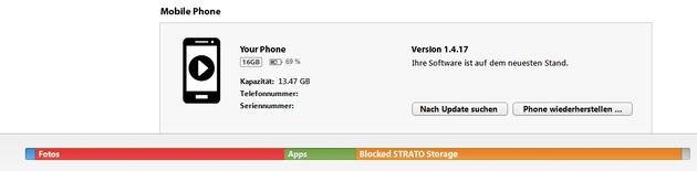 STRATO Distributed Cloud Storage Konfiguration