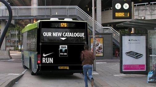 Streetmarketing van Nike